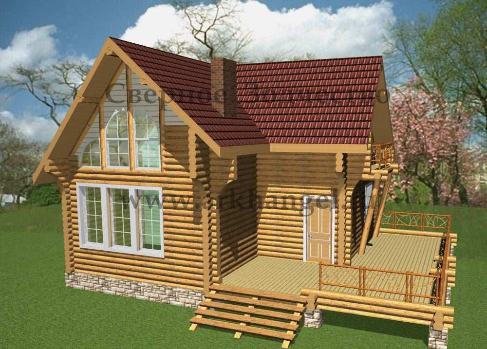 Скачать бесплатно книгу деревянный дом