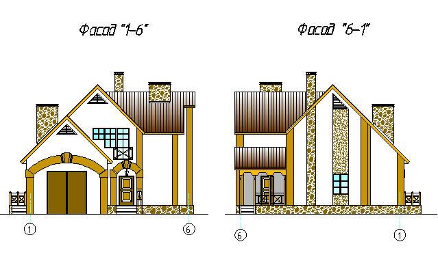 Скачать бесплатно чертежи проектов домов и коттеджей Архив  Скачать>>> Дипломный Проект на тему Одноквартирный жилой двухэтажный дом