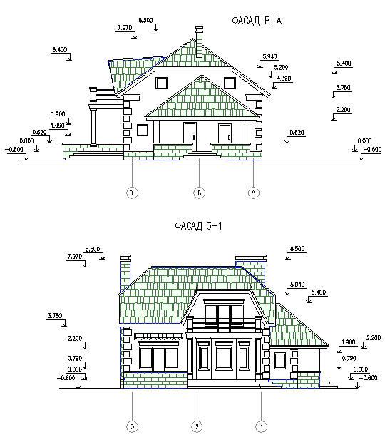 Проект. Частный жилой дом