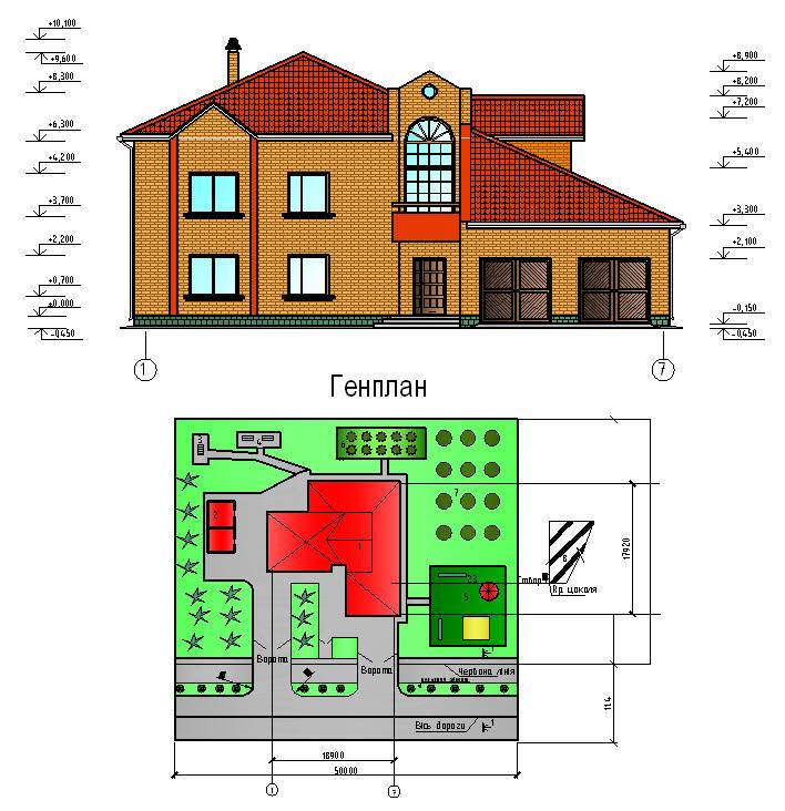Деревянные дома Архив проектов домов коттеджей бань Скачать>>> Курсовой проект по архитектуре Коттедж