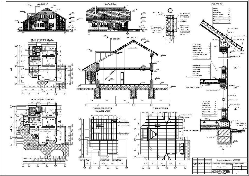 Скачать>>> Курсовой проект по архитектуре на тему Коттедж на  Курсовой проект