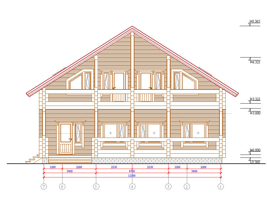 Виды чертежи домов