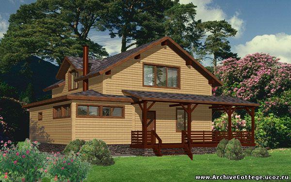 Проект проект дачного дома руза