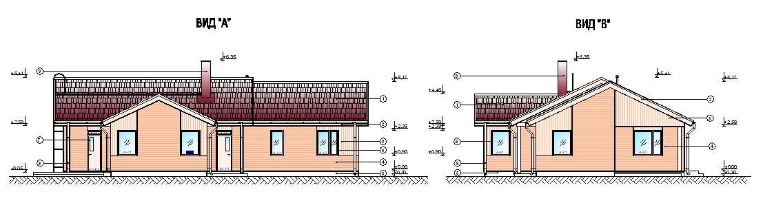 Дом 11 на 11 одноэтажный