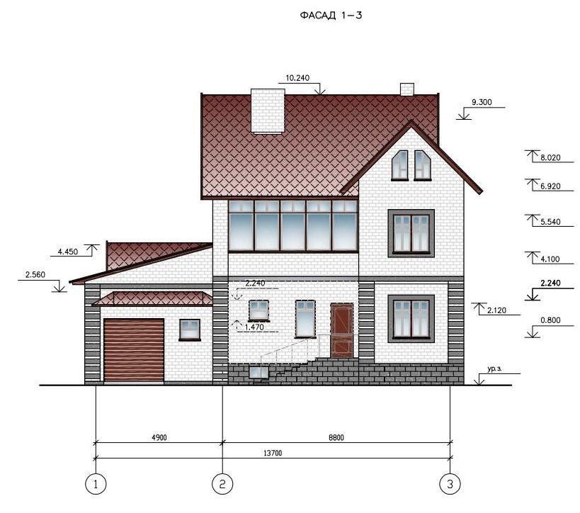 Скачать>>> Курсовой проект по архитектуре на тему Проект жилого  Курсовой проект по архитектуре